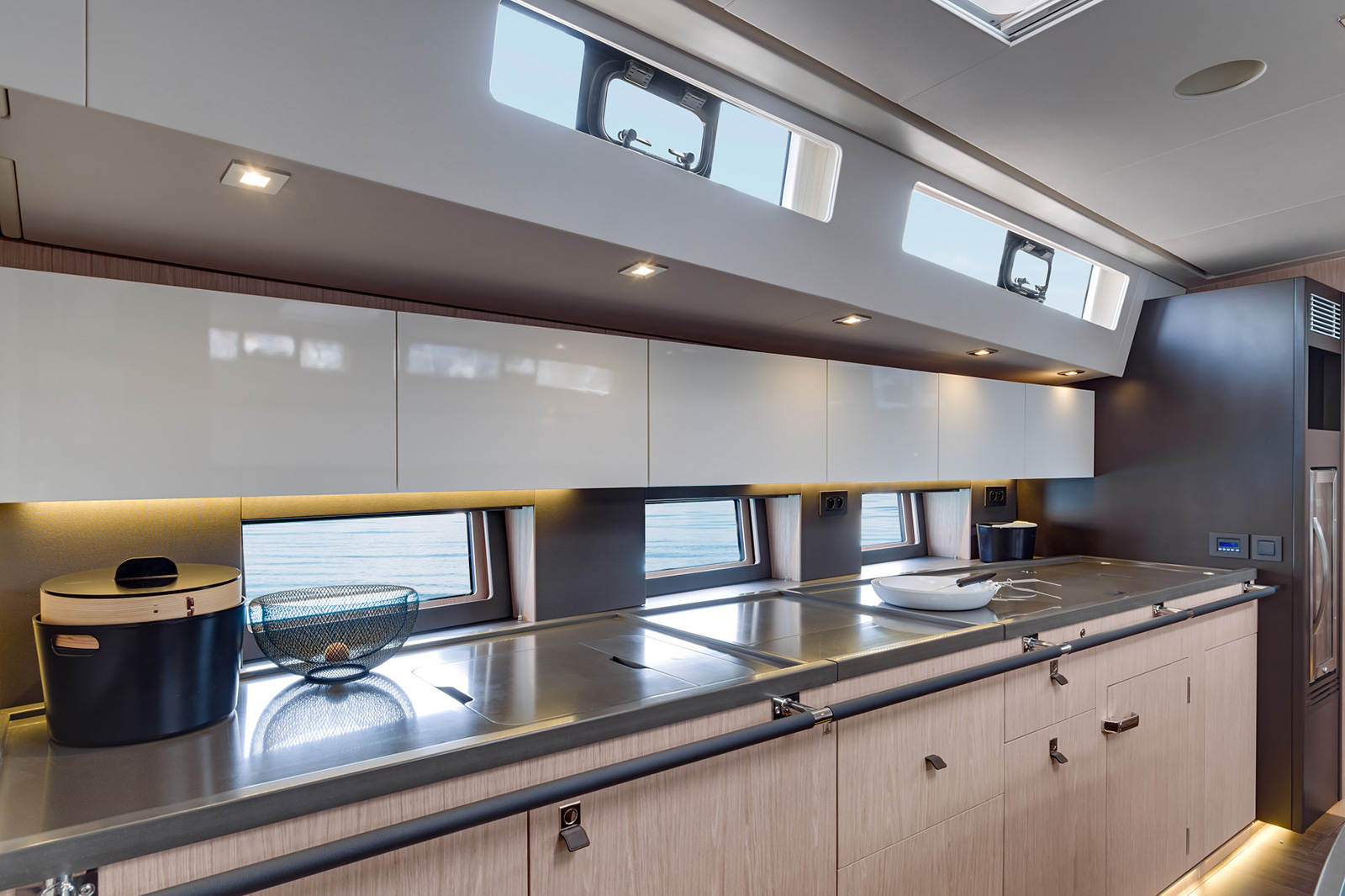 Oceanis62 Yacht Kitchen