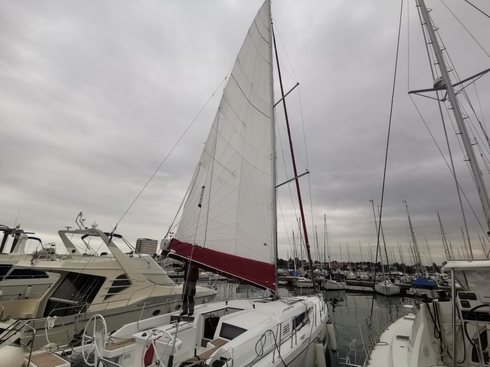 Oceanis46.1 Firstline Sail